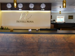 Hotell Nova reception