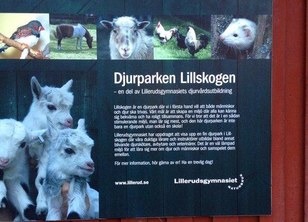 Djurparken Lillskogen Karlstad