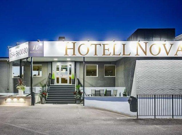 Hotel Nova entrance
