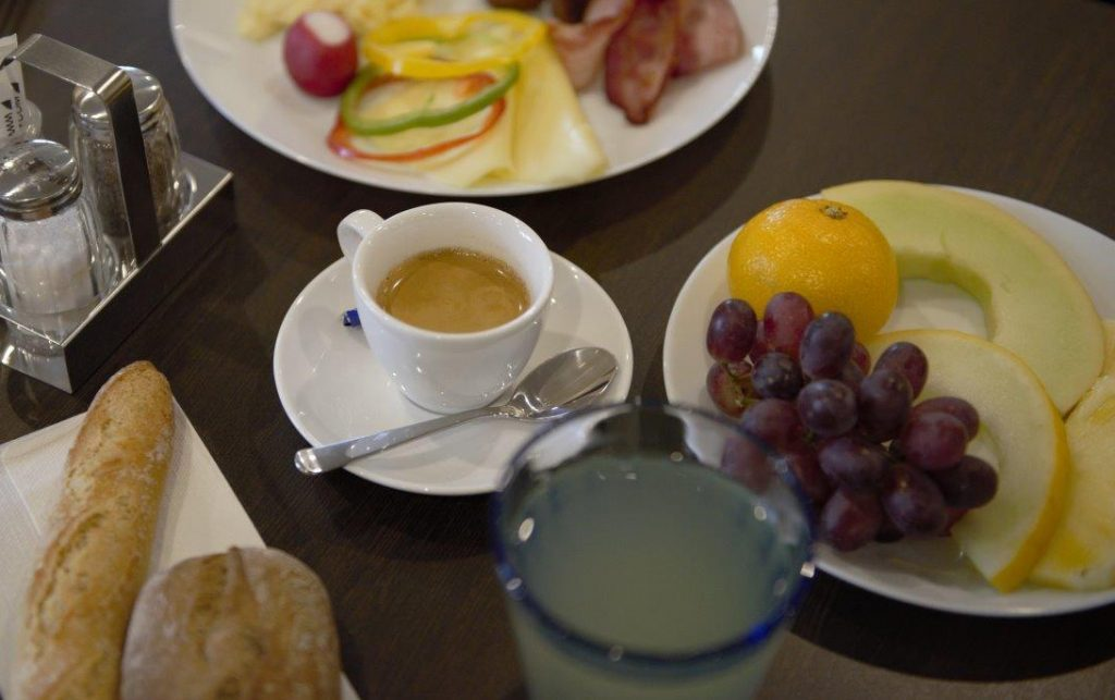 Hotel Nova in Karlstad breakfast