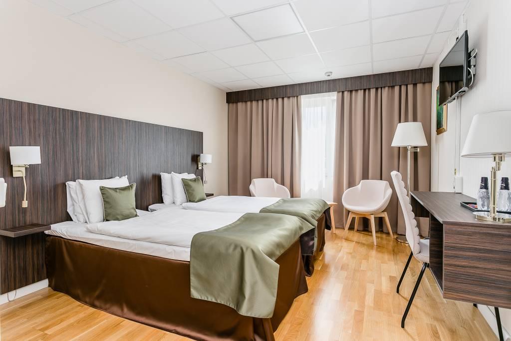 Hotell Nova rum grönt