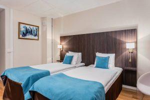 Hotell Nova rum blått