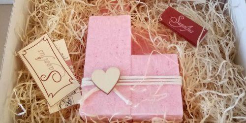 Gift box to handmade candles - Sagoljus