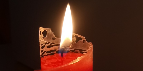 Handmade Candle from Sagoljus
